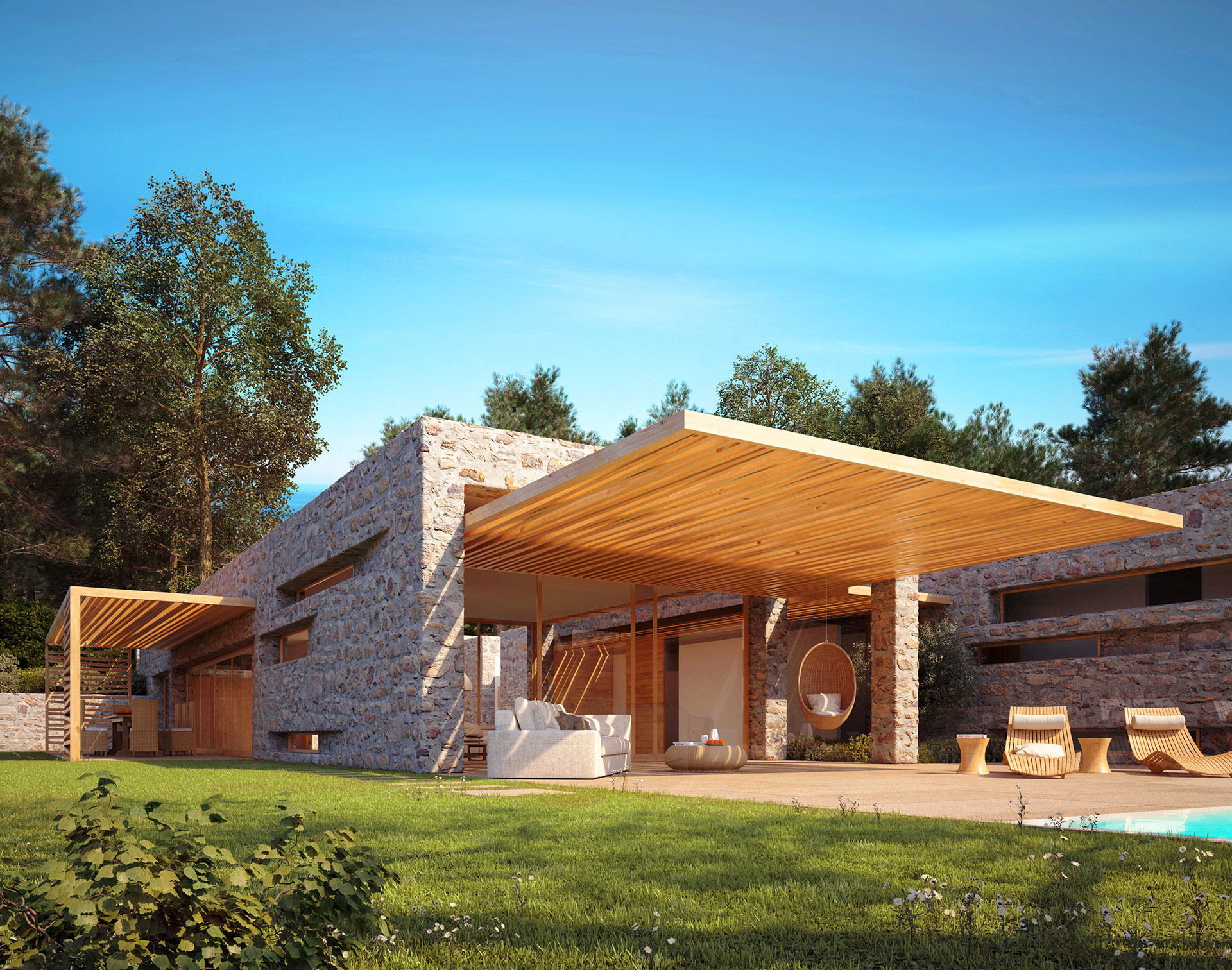 Olive grove – golf front villa – fact sheet