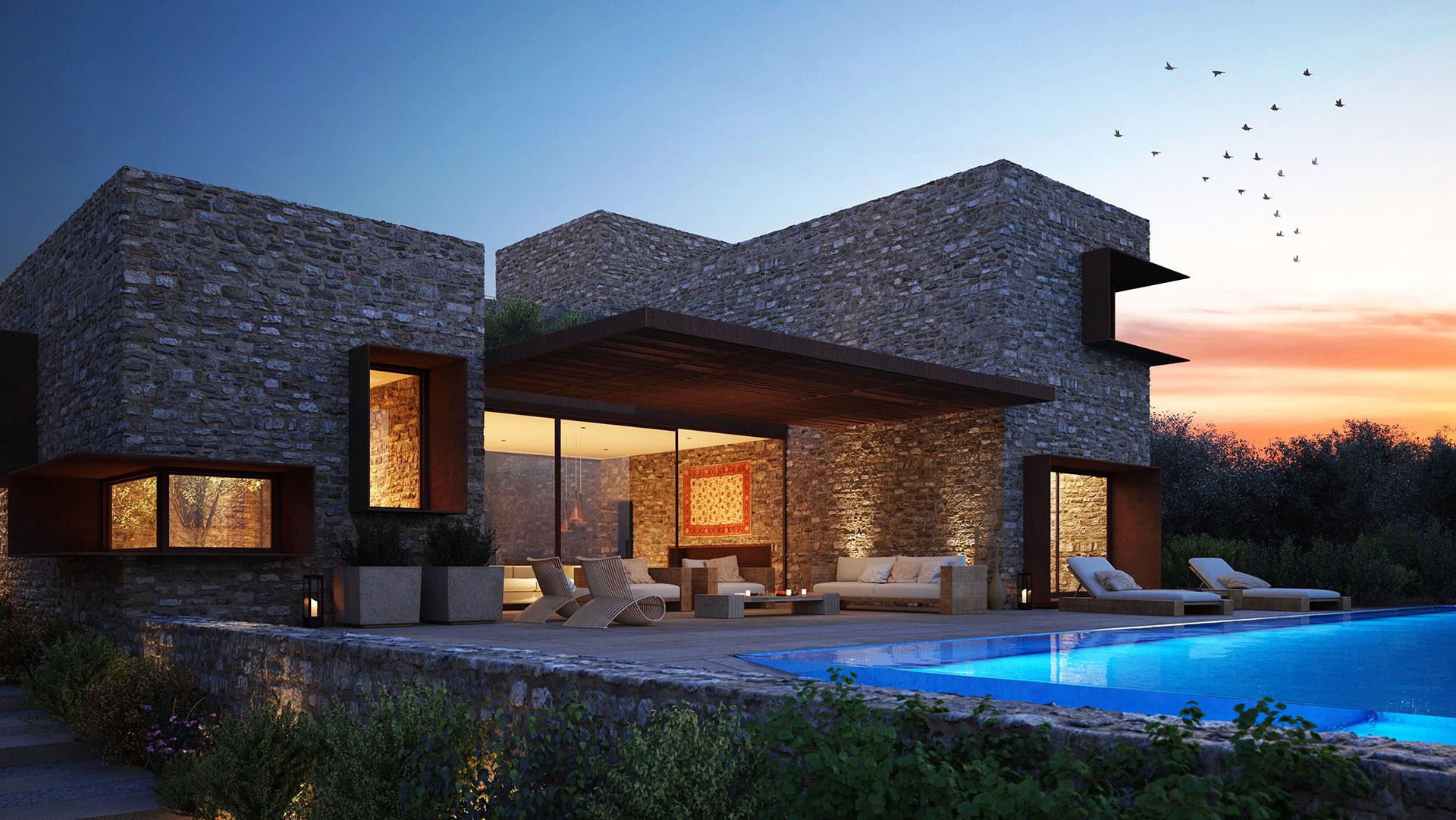 Olive grove – panorama villa – fact sheet