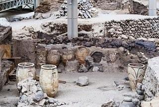 Кухонная утварь древних жителей Санторини