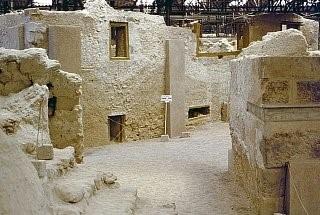 Улицы города, найденные археологами