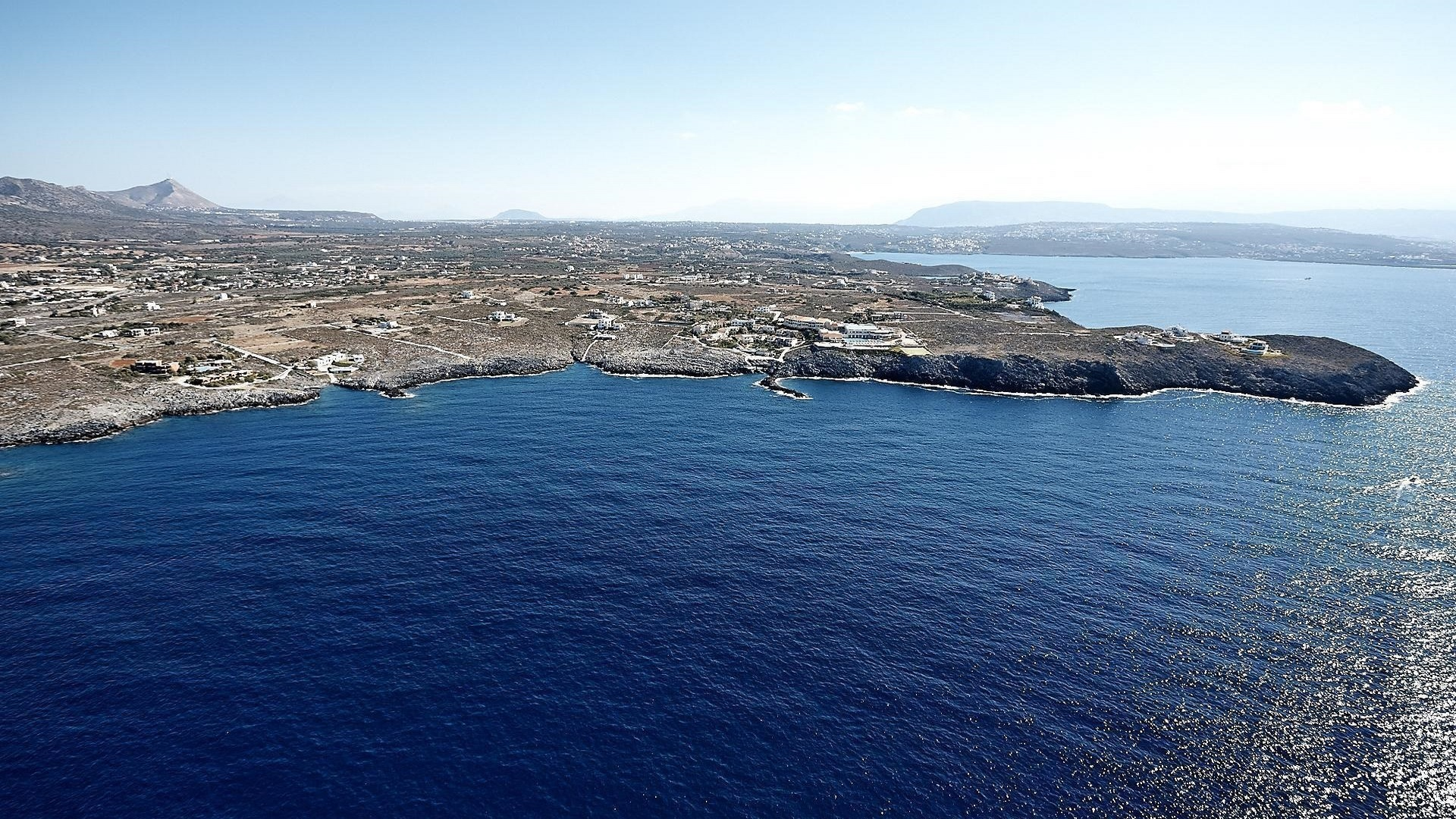 Land plot on the island Crete