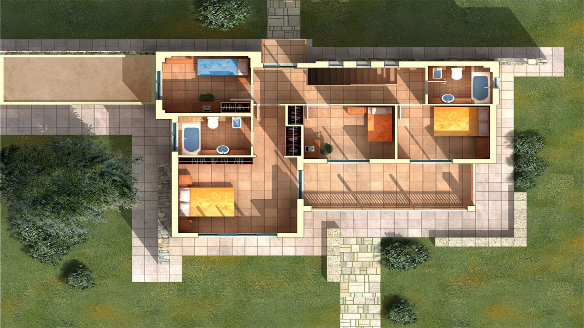 House Type A: First Floor