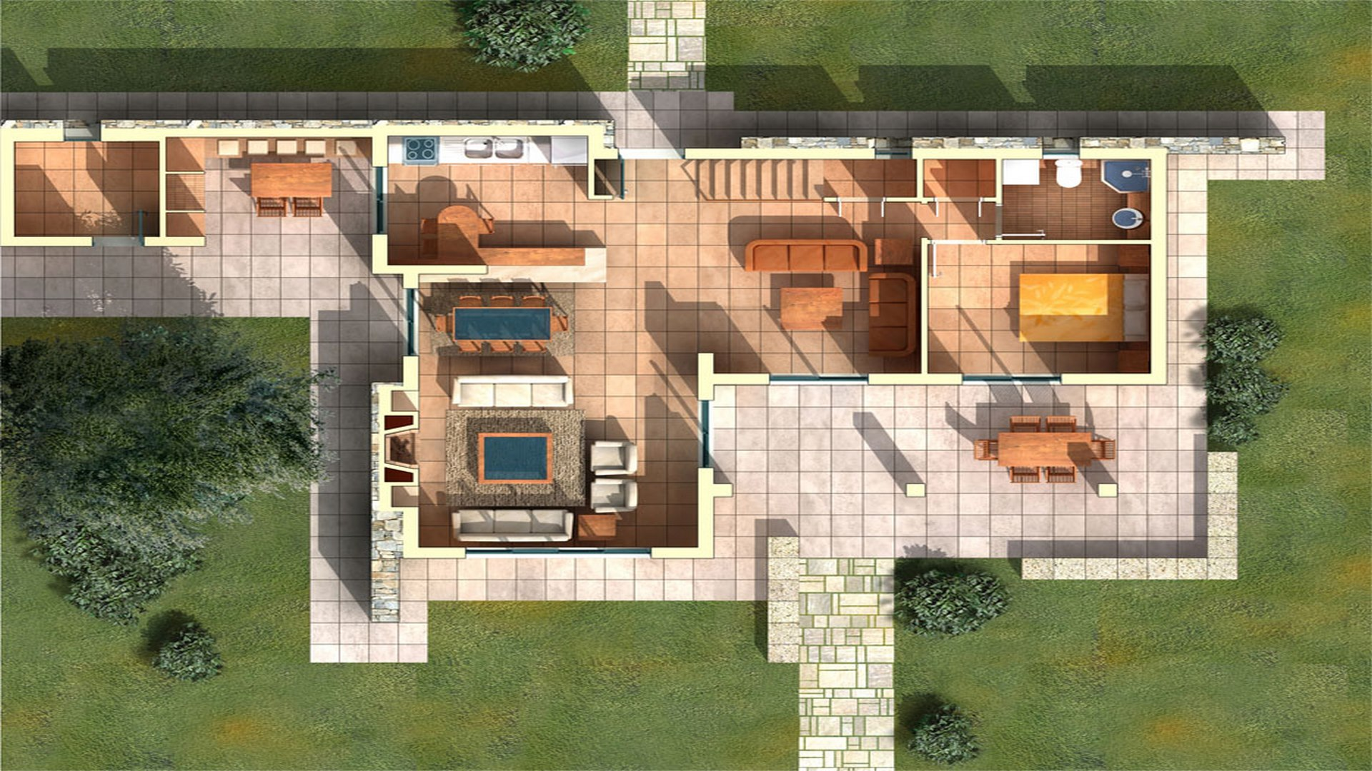 House Type A: Ground Floor