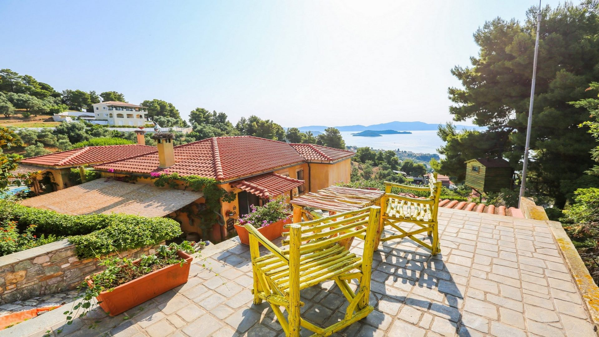Villa on the island Skiathos