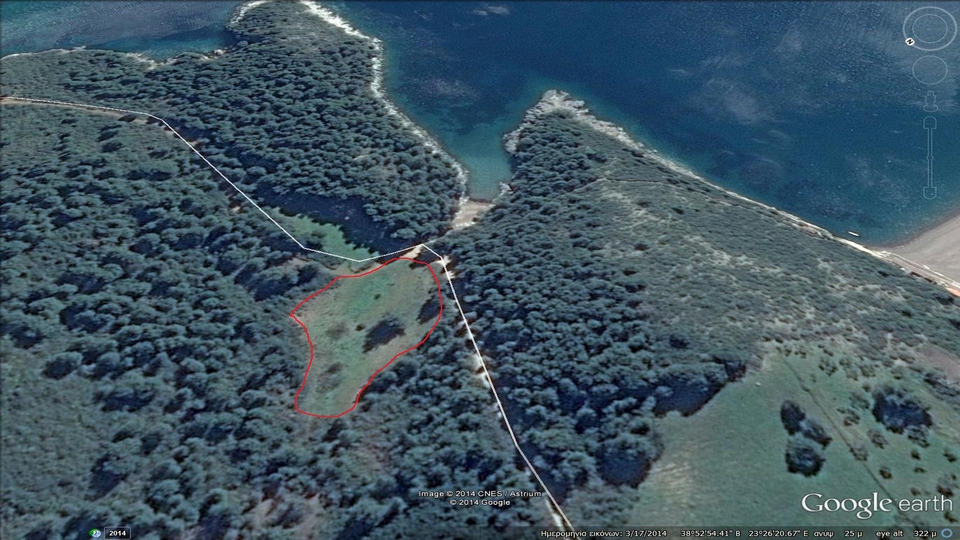 фото участка 1.2 гектара -остров Эвия (Копия)