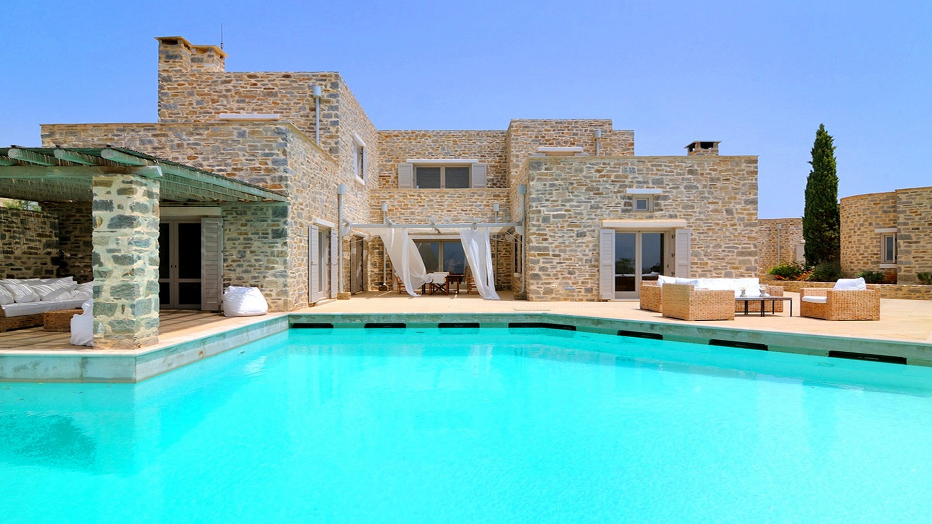 Villa on the island of Paros