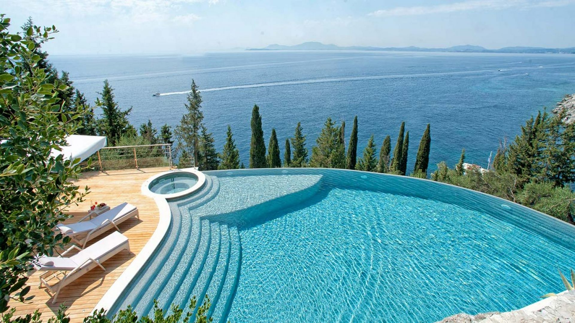 Villa Vergina in Corfu