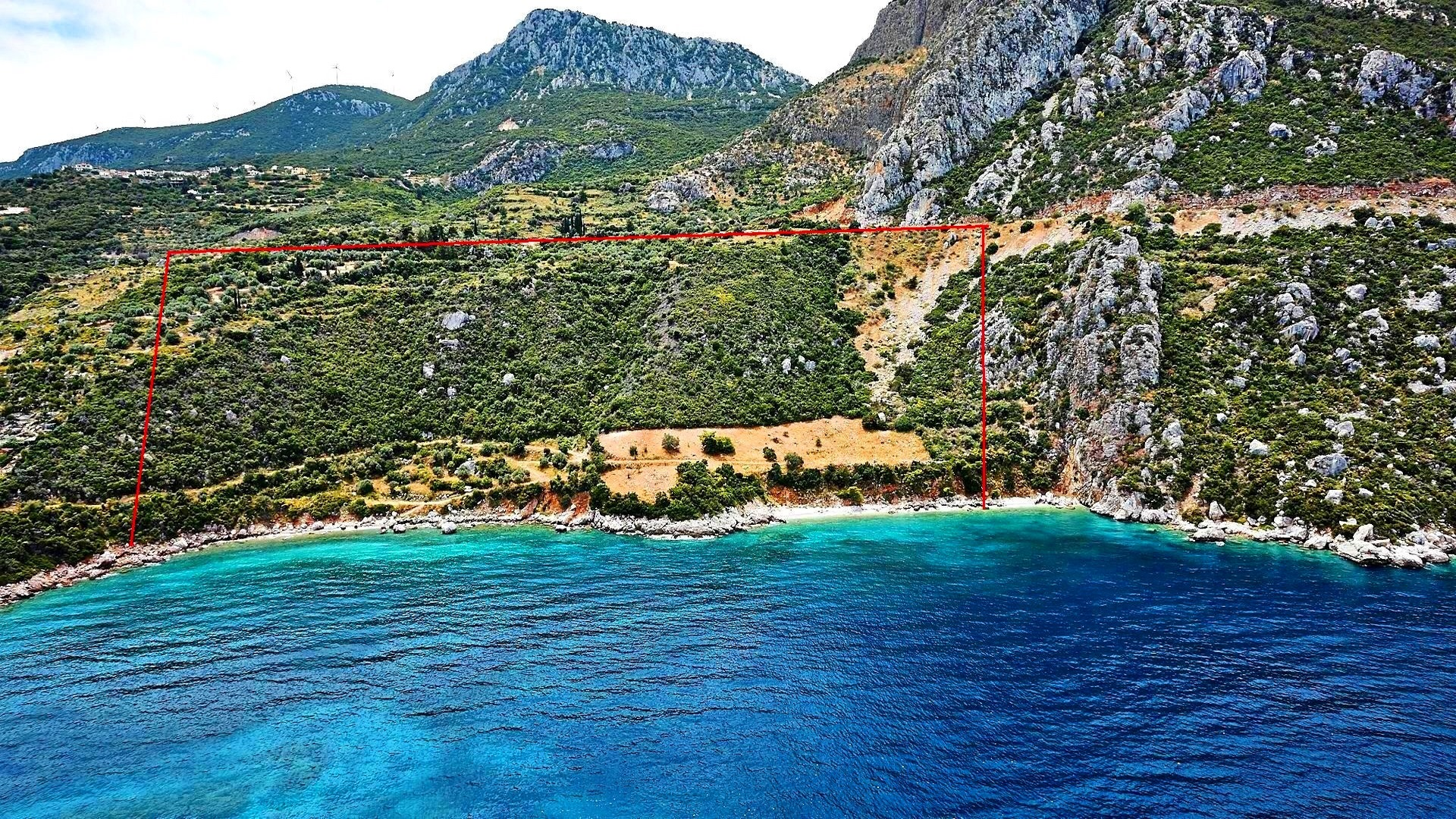 2 land plots on Peloponnese