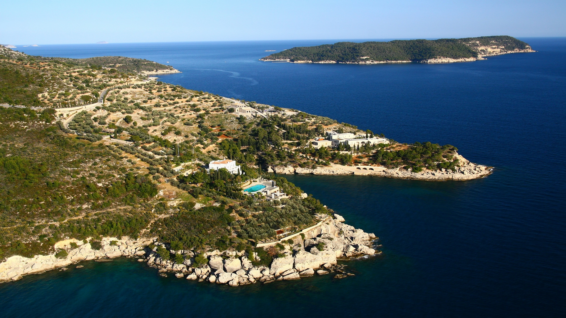 Villa on the island Spetses