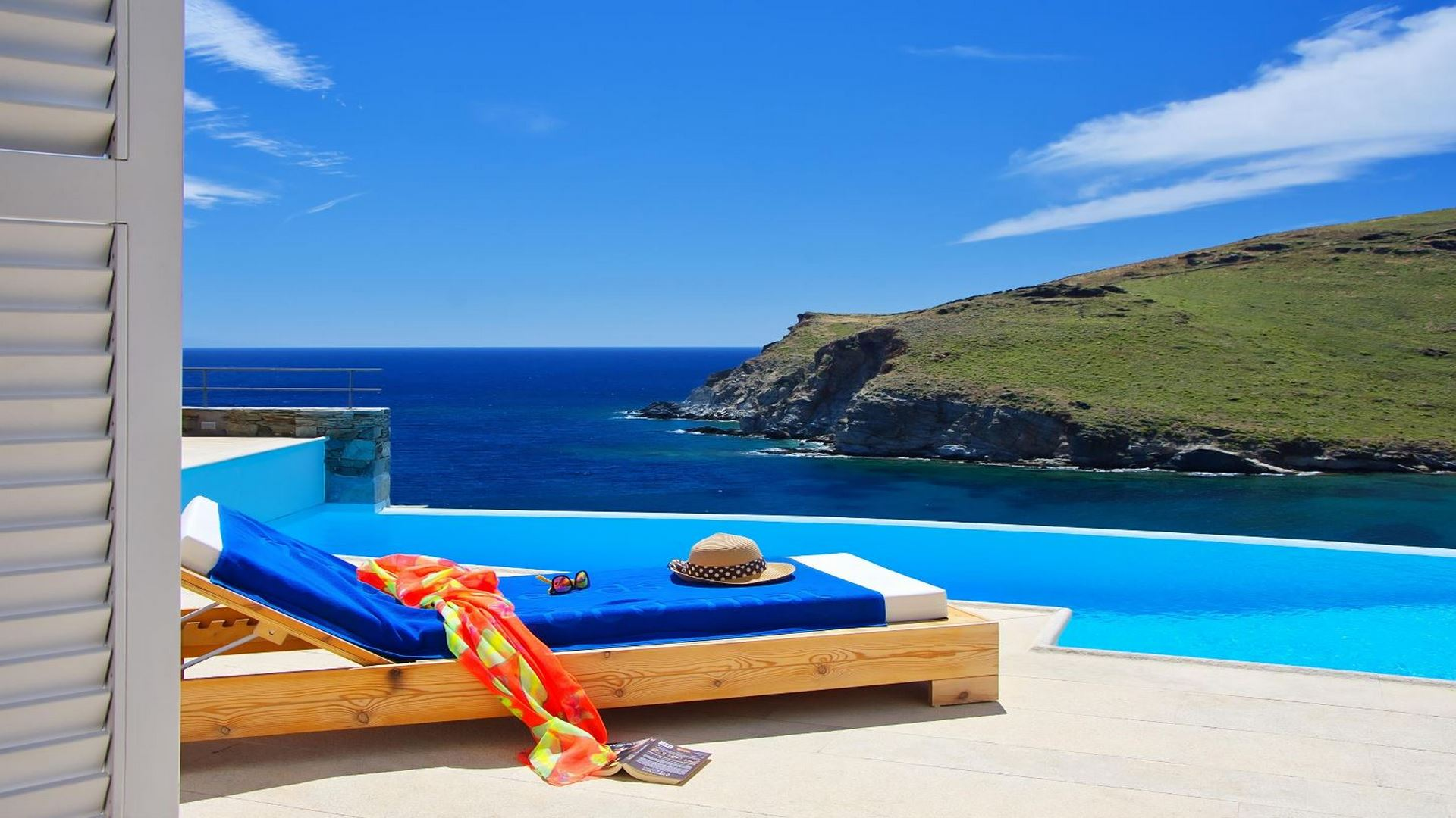Villa on Syros island
