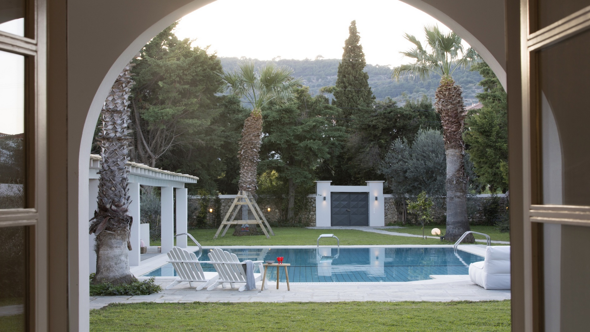 Villa on Spetses island