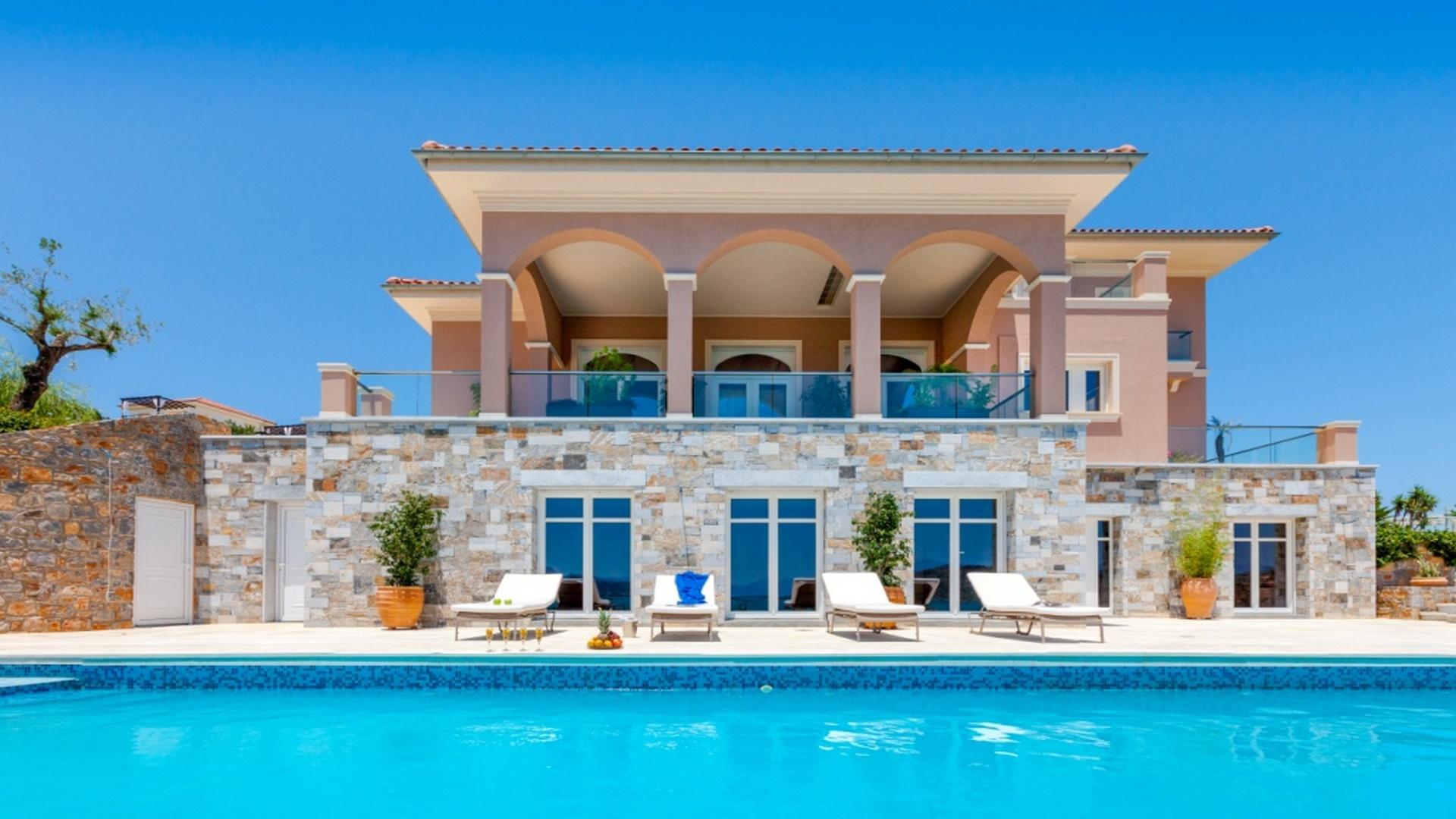 Вилла на острове Крит