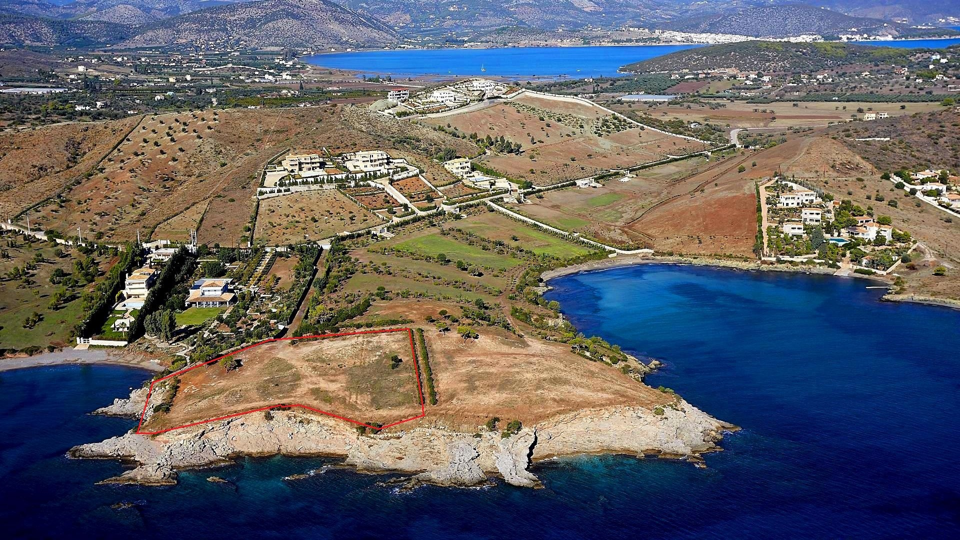 Land plot on Peloponnese