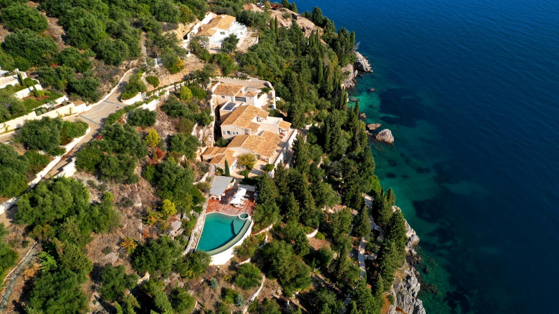 Stunning villa on Corfu